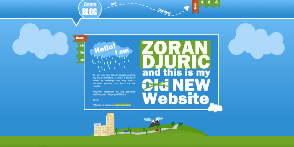 zoran djuric website